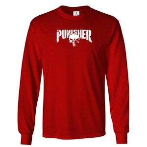 Youth Kids The Punisher T-Shirt Long Sleeve